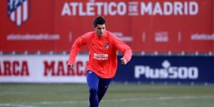 """Morata: """"Tengo en casa aún mi peto de recogepelotas del Atleti"""""""