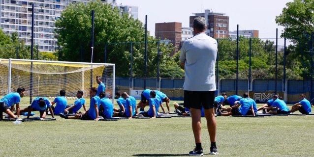 Boca Juniors comienza la pretemporada con Alfaro como nuevo entrenador