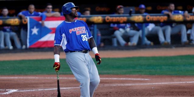 BEISBOL: Kennys Vargas, de los Indios, campeón bate de la Liga de Béisbol de P.Rico