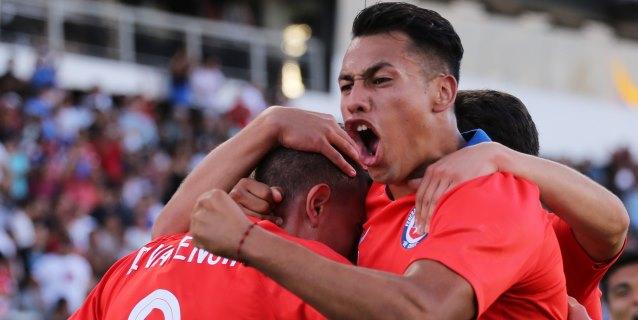 1-0. Chile tumba a Brasil y pone al rojo vivo el grupo A del Sudamericano Sub-20