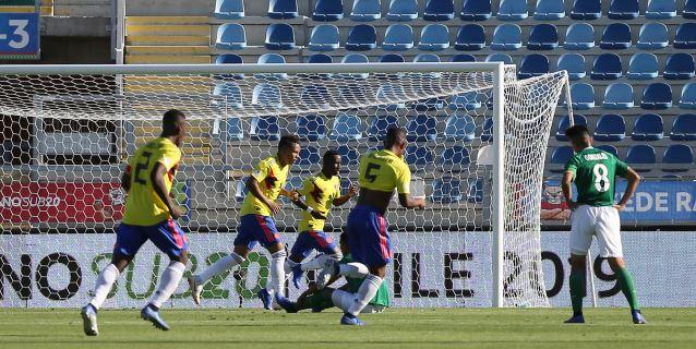 1-0. Colombia vence a Bolivia y se ubica segundo por detrás de Venezuela