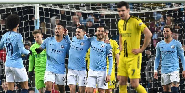 Manchester City logra un histórico 9-0 ante el Burton