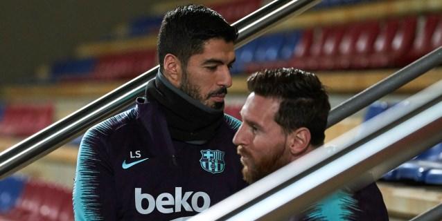 Primer entrenamiento del año del Barça, ya con los sudamericanos y Munir