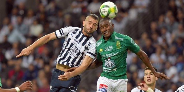 El colombiano Mosquera rescata para el León un empate en casa del Monterrey