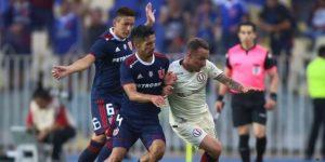 Universitario cayó 2-1 ante la Universidad de Chile en Concepción