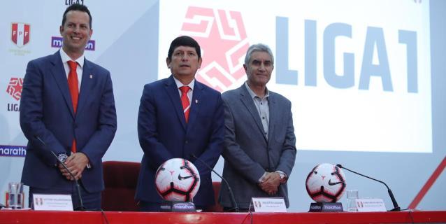 El fútbol peruano jugará este año la Liga 1, con torneos Apertura y Clausura