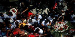 El Flamengo todavía llora y despide a los jóvenes fallecidos en el incendio