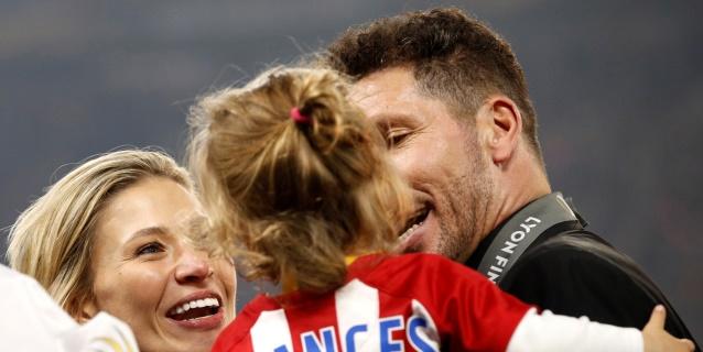 """Simeone, """"contento y feliz"""" tras su quinta paternidad"""