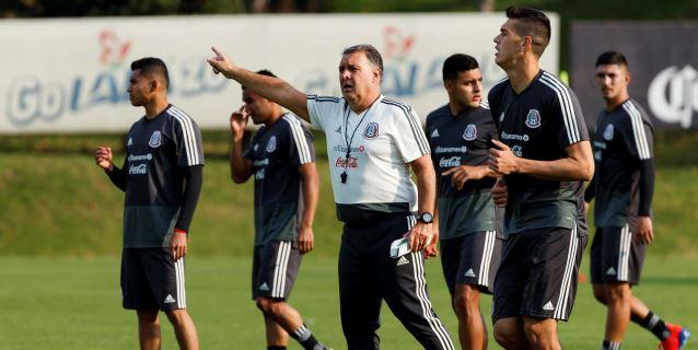 El argentino Martino cumple el primer día de prácticas con la selección mexicana