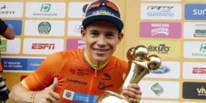 Nairo se repone de una caída para ganar la última etapa y López conquista el Tour Colombia