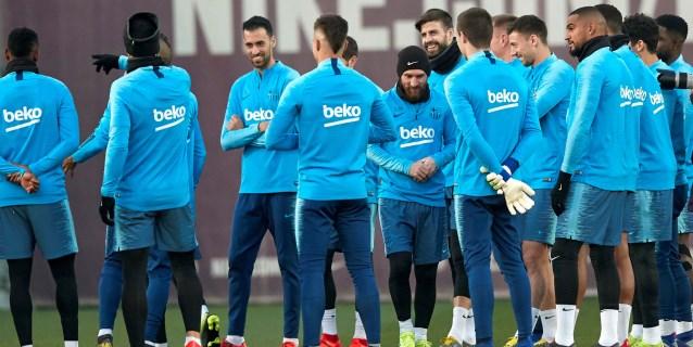 Messi y Dembélé entran en una convocatoria con 19 futbolistas