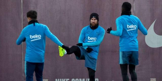 Messi entran en la convocatoria; Dembélé sigue de baja