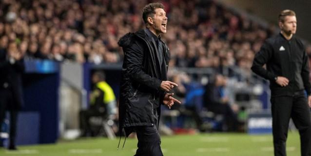 La UEFA abre expediente disciplinario a Simeone
