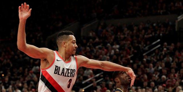 NBA: 127-118. McCollum lidera la victoria de los Trail Blazers y dejan en crisis a los Spurs