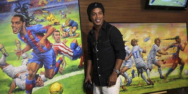 El Maracaná homenajea a Ronaldinho e inaugura un tour dedicado al futbolista