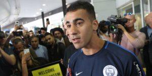 El Futbolista Hakeem al Araibi llega a Australia tras su detención en Tailandia