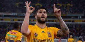El francés Gignac decide triunfo de Tigres, que toma el liderato del Clausura
