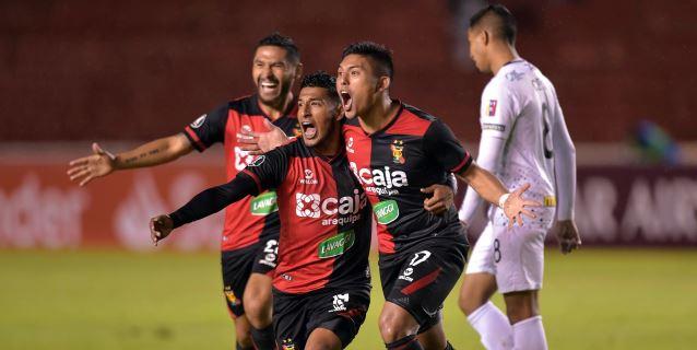 2-0. Melgar pega primero en el comienzo de la tercera fase de la Copa Libertadores