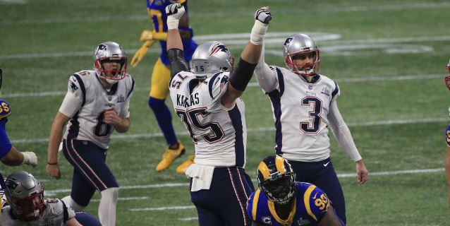 3-13. Los Patriots agrandan su leyenda con el sexto título de Super Bowl