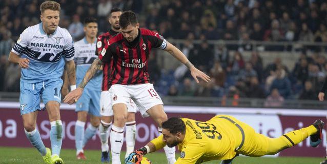 Lazio y Milan empatan 0-0 y se jugarán el pase a la final en San Siro