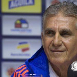 """Queiroz se compromete a """"cuidar bien del patrimonio"""" del fútbol colombiano"""
