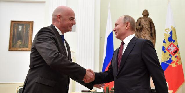 Rusia apoya a Infantino para seguir al frente de la FIFA