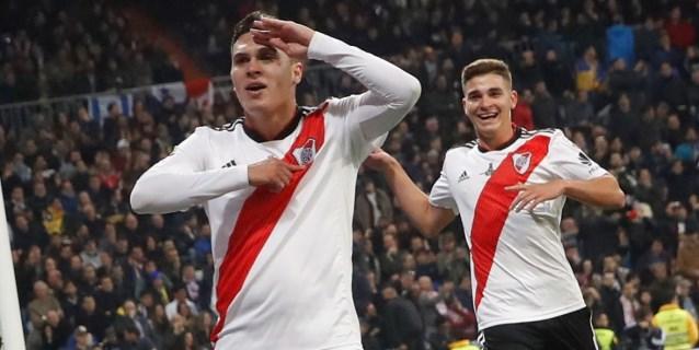 Quintero anota otro golazo, pero River Plate iguala 1-1 con Rosario Central