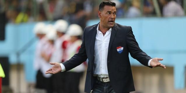Fernando Gamboa sale del Nacional paraguayo tras su eliminación de la Libertadores