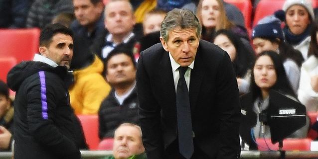 Claude Puel deja de ser entrenador del Leicester City