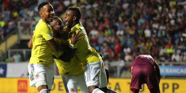 0-2. Colombia resucita a tiempo a costa de una Venezuela cuesta abajo