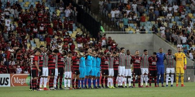 Flamengo y Fluminense rinden tributo a los jóvenes fallecidos en un incendio en Río