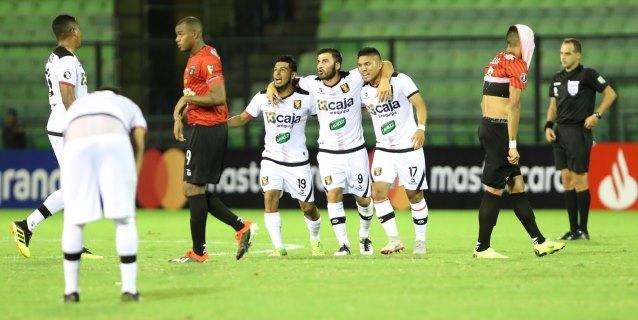2-1. El argentino Cuesta lleva al Melgar a la fase de grupos de la Libertadores