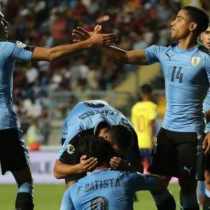 0-1. Uruguay gana a Ecuador y acrecienta sus posibilidades