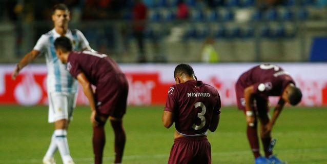 0-3. Gaich tumba a Venezuela con un triplete y acerca a Argentina al Mundial