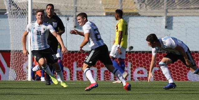 1-0: Argentina vuelve a la pelea por un cupo al Mundial tras vencer a Colombia