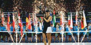 TENIS DUBAI: Belinda Bencic culmina la semana con título en Dubai