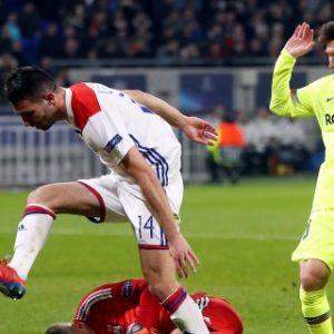0-0. El Barça deja vivo al Lyon