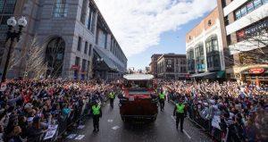NFL: Boston celebra sexto desfile triunfal de los Patriots con Gronkowski de estrella