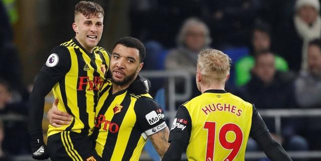 'Hat trick' de Deulofeu para colocar séptimo al Watford