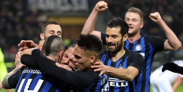 El Inter, con Icardi en la grada, vence al Sampdoria (2-1)