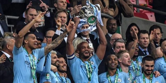 El City se sostiene en los penaltis y levanta la Copa de la Liga