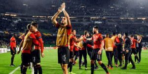 1-3. El Rennes logra unos históricos octavos ante la desilusión bética
