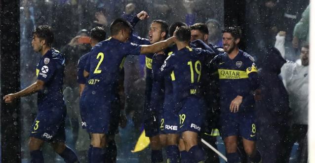 Boca Juniors recupera la sonrisa y golea a San Martín en San Juan