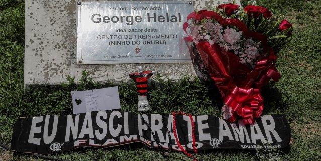 El Flamengo llora a las víctimas del incendio y deja a Río de Janeiro de luto