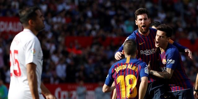 Messi amarra media liga