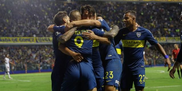 Boca derrotó a Banfield y se aseguró la tercera plaza en la clasificación