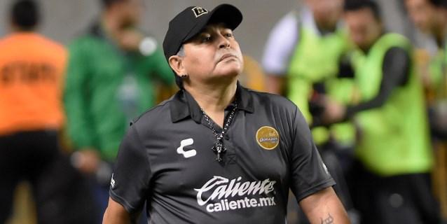 """Maradona pronostica que el """"Tata"""" Martino le dará muchos triunfos a México"""