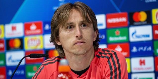 Modric apunta a los delanteros: Sin Cristiano tenían que dar un paso adelante