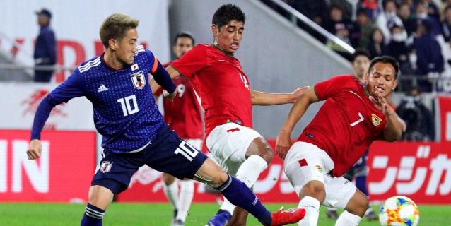 1-0. Una gris Bolivia se rinde al dominio de Japón