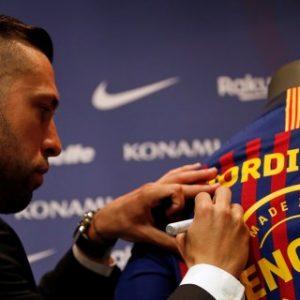 """Jordi Alba: """"La renovación llega en el mejor momento de mi carrera"""""""